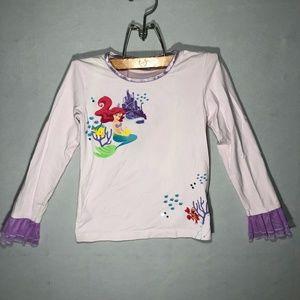Disney Little Mermaid - Medium (7/8) LS-Top